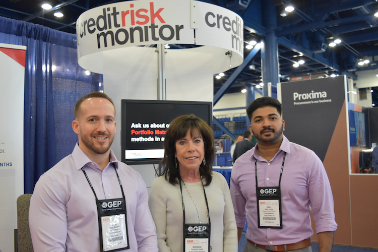 CreditRiskMonitor team at the ISM event